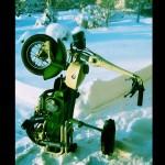 Lättparkerad Moto Graziella 1974